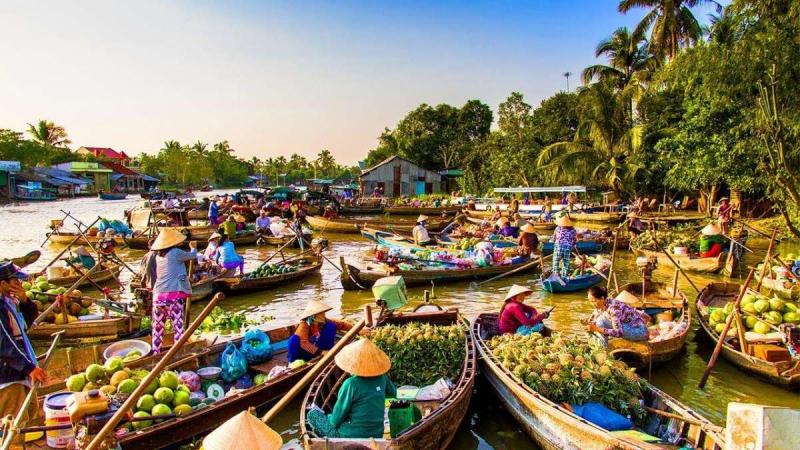 Chợ nổi miền Tây sông nước