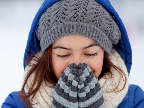 Giữ gìn đôi môi khi trở lạnh.