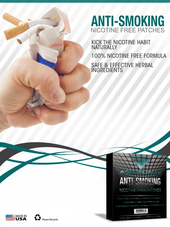 Miếng dán cai nghiện thuốc lá ANTI SMOKE PATCHES