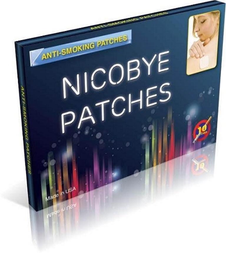 Miếng dán cai nghiện thuốc lá Nicobye tốt nhất của Mỹ hộp 10 miếng