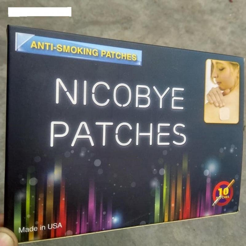 Miếng dán cai nghiện thuốc lá Nicobye