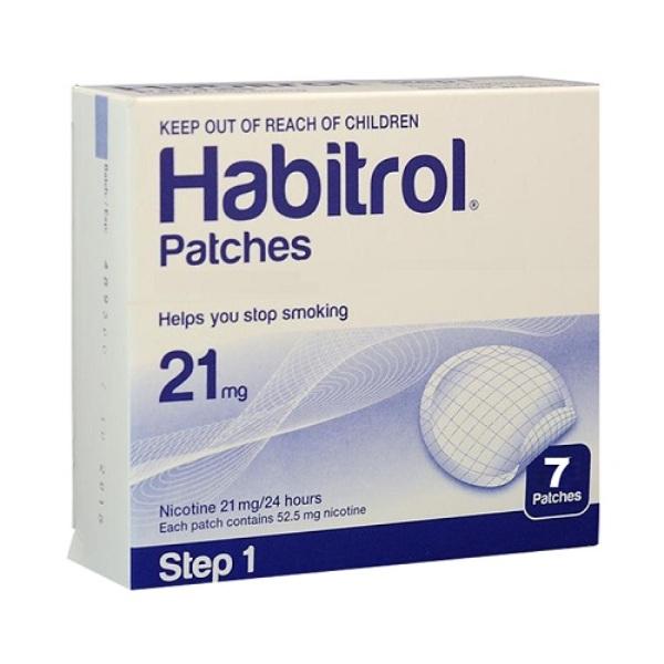 Miếng dán cai thuốc lá Habitrol giúp bạn cai thuốc lá thành công