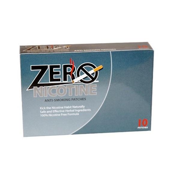 Miếng dán cai nghiện thuốc lá Zero Nicotine Patches