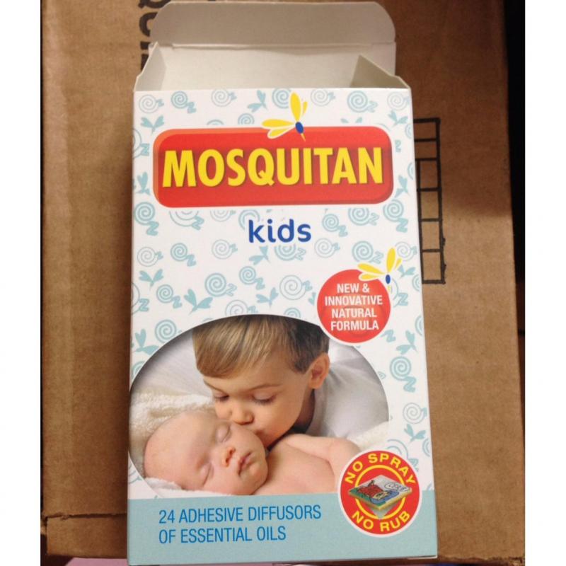 Miếng Dán Chống Muỗi Mosquitan