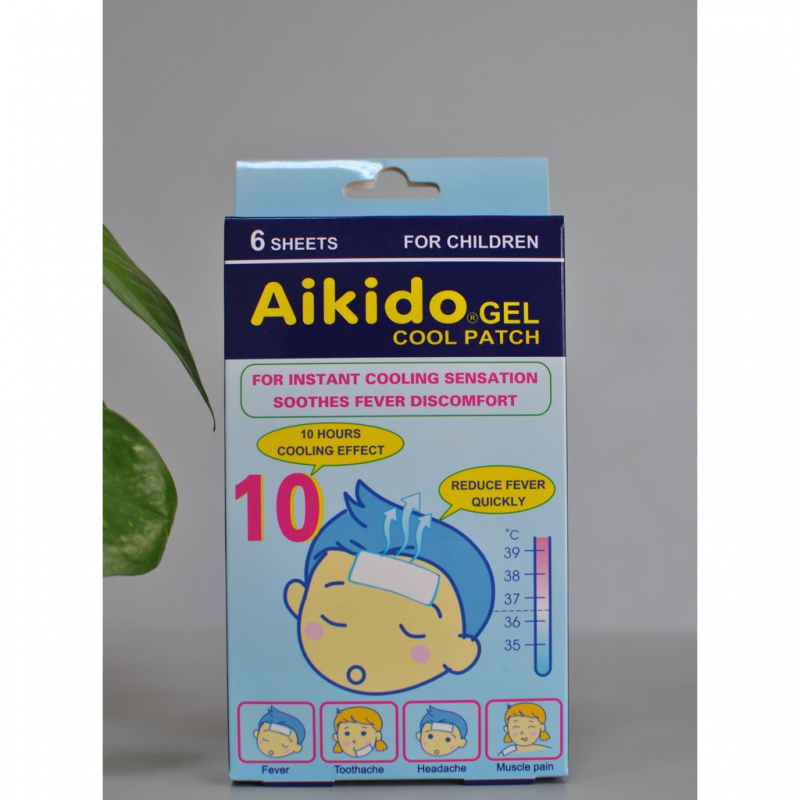 miếng dán hạ sốt Akido