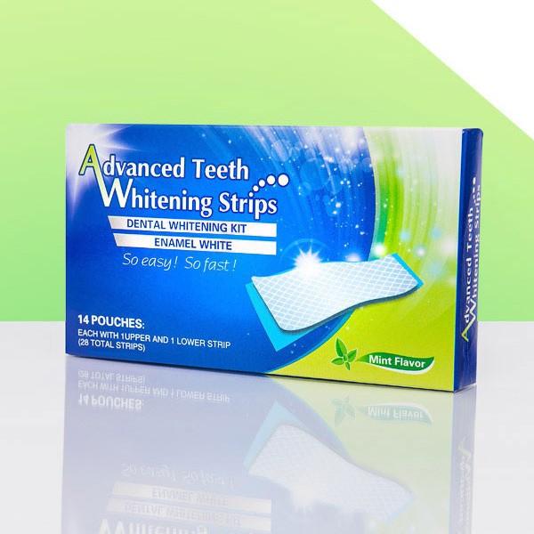 Miếng dán trắng răng Advanced Teeth Whitening strips