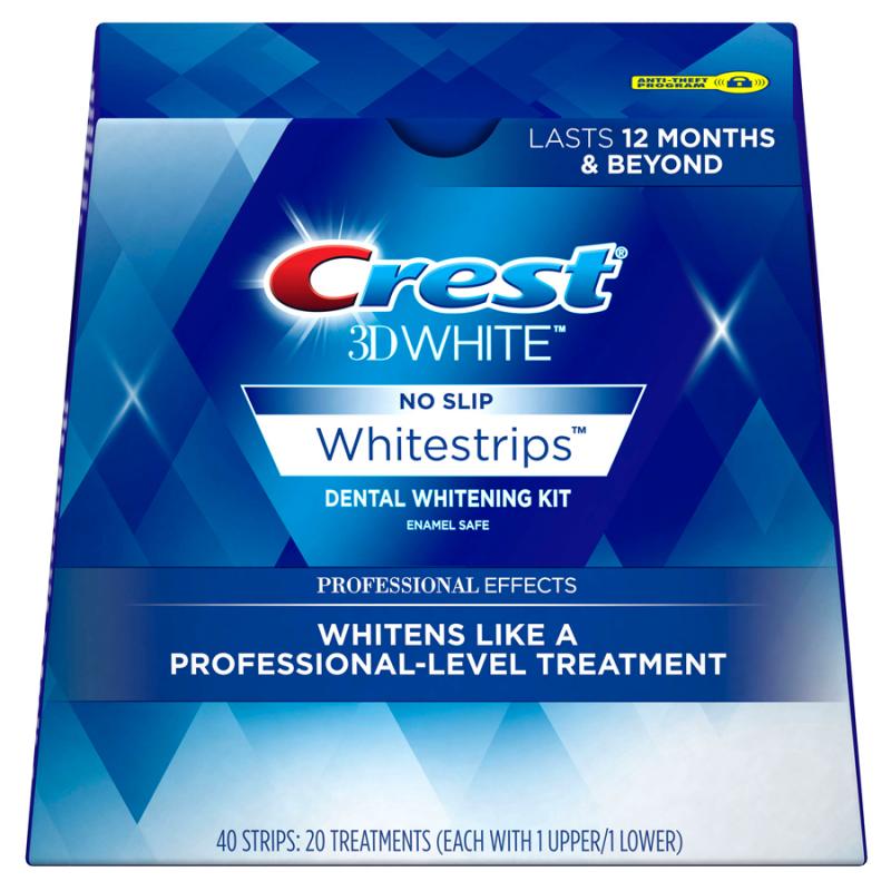 Miếng Dán Trắng Răng Crest 3D White Của Mỹ, 4 miếng