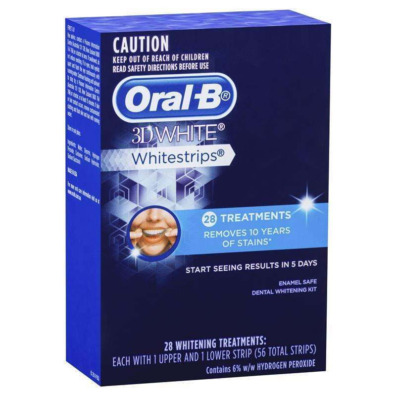 Miếng dán tẩy trắng răng Oral-B 3D White Whitestrips
