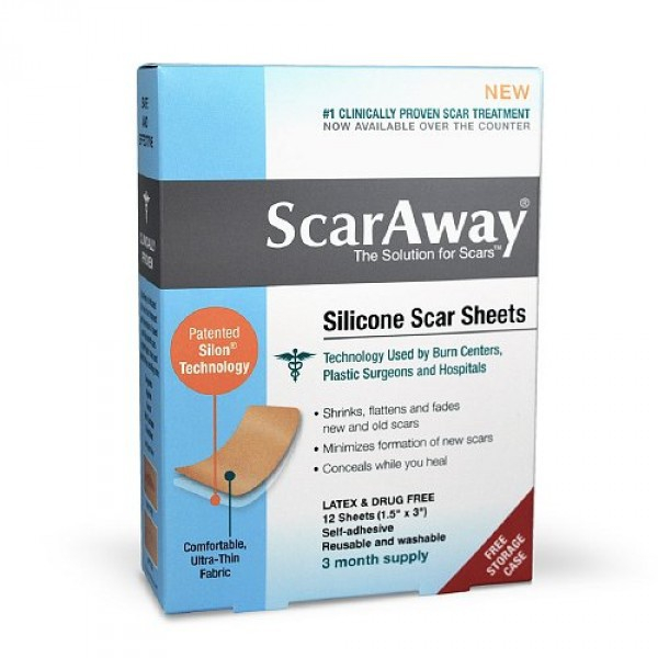 Miếng dán trị sẹo Scaraway Silicone Scar Sheet