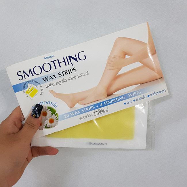 Miếng Tẩy Lông Mistine Smoothing Wax Strips