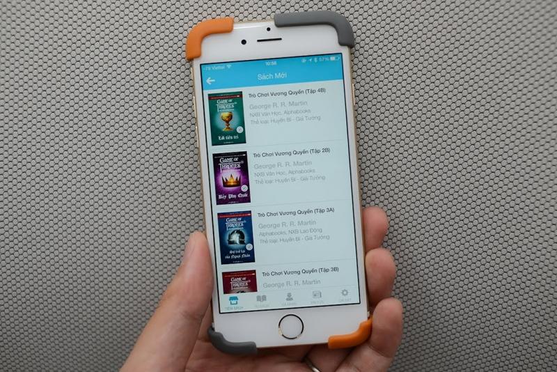 Miki- Ứng dụng đọc sách trên điện thoại