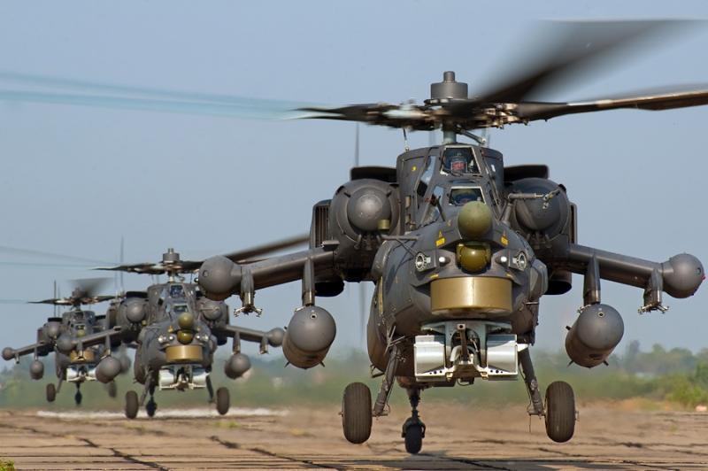 Trực thăng Mi-28N Night Hunter.