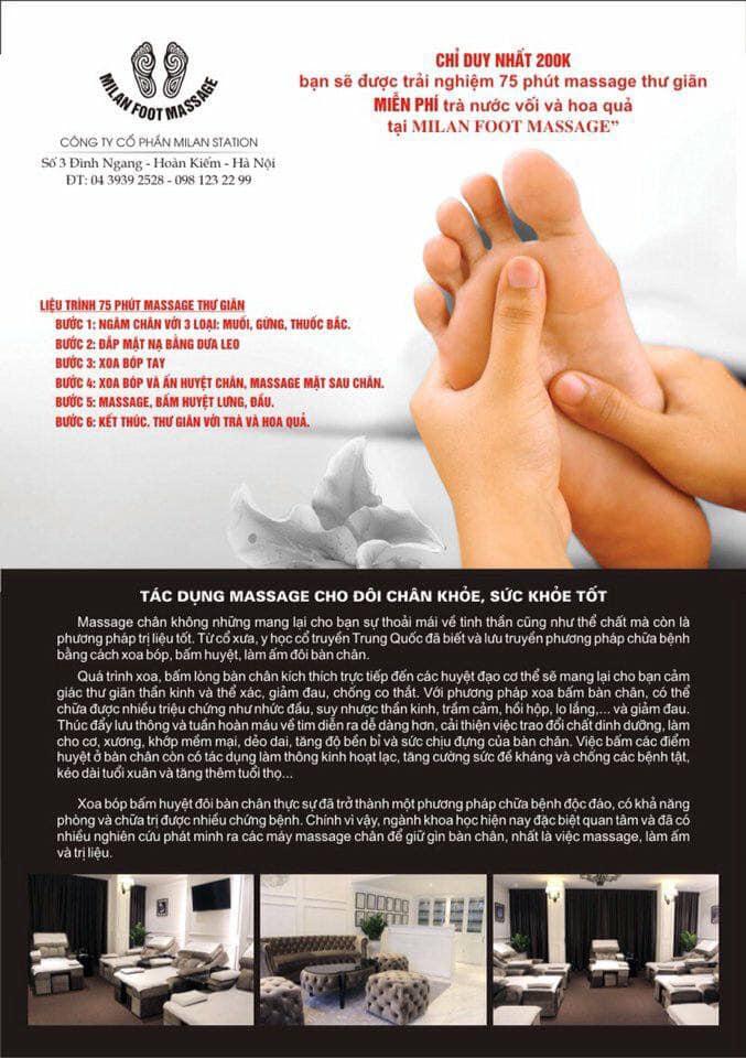 Milan Foot Massage