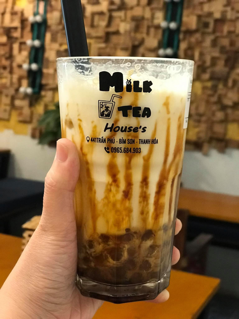 Milk tea House's