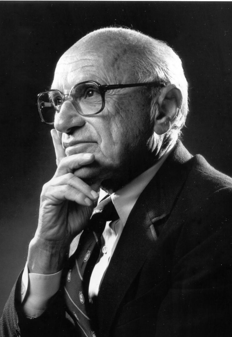 Milton Friedman (1912 – 2006)