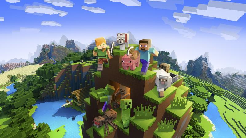 Thỏa sức sáng tạo cùng với game Minecraft