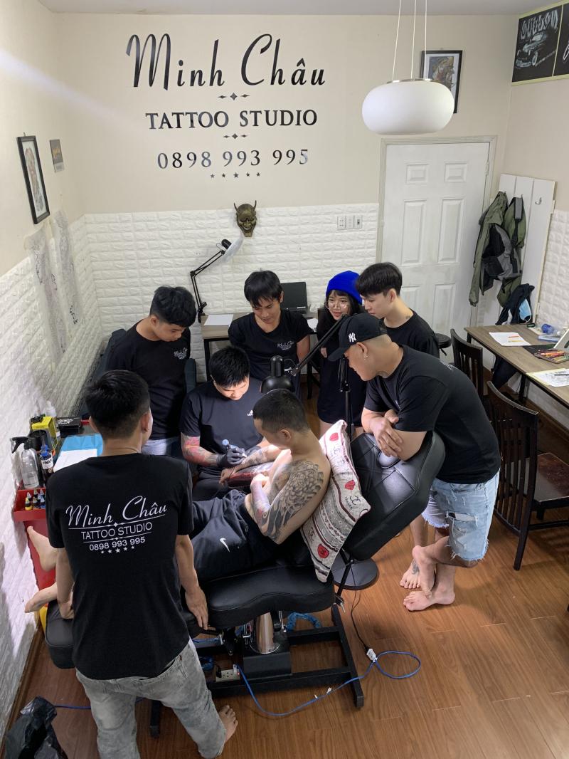 Minh Châu tattoo studio