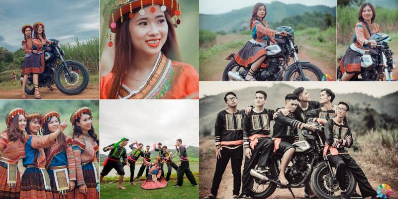 Concept trang phục dân tộc tại Minh Kang Studio