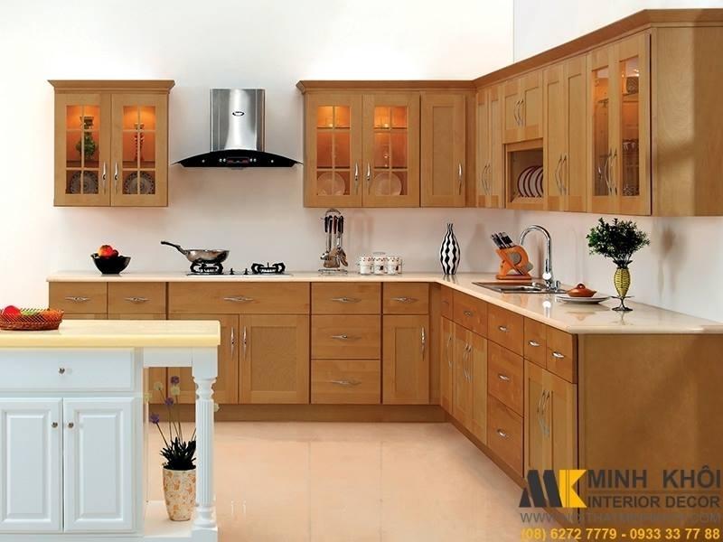 Thiết kế mẫu một căn bếp của Minh Khôi.
