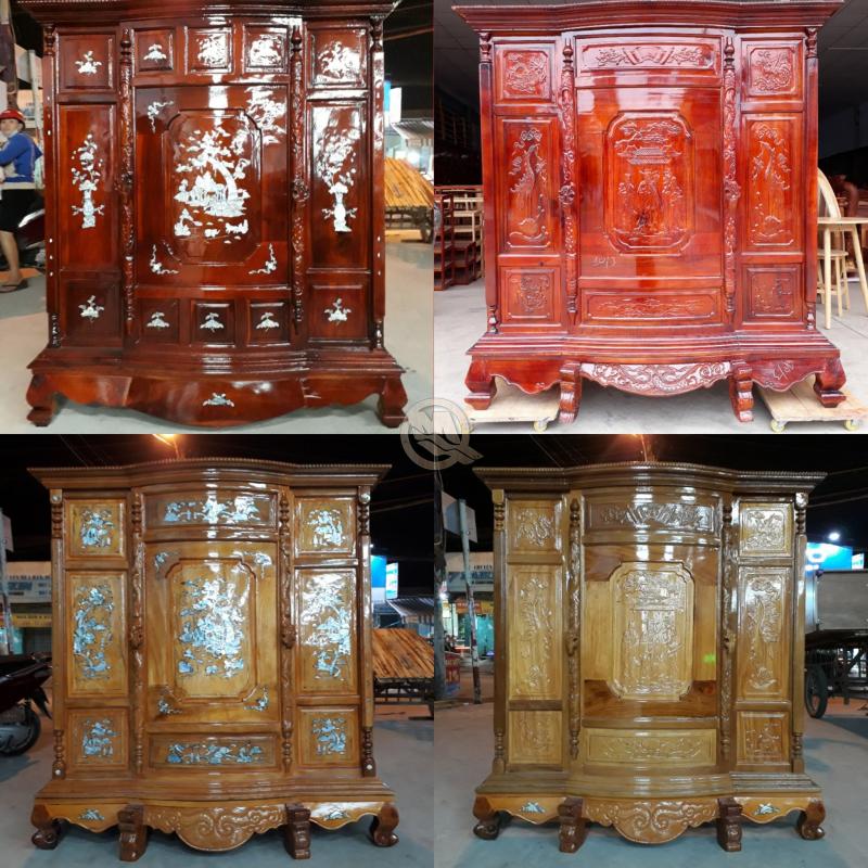 Sản phẩm của Minh Quốc là loại gỗ nhập khẩu, chống thấm tốt, vân gỗ đẹp đã trải qua quá trình tẩm sấy chống cong, vênh...