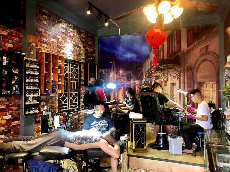 Minh Tran Tattoo - Artist MinhTran MT