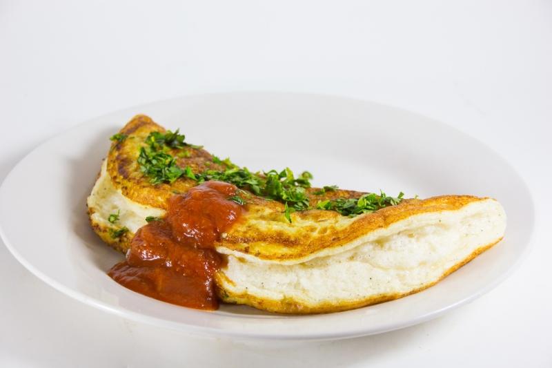 Mini Soufflé Omelette