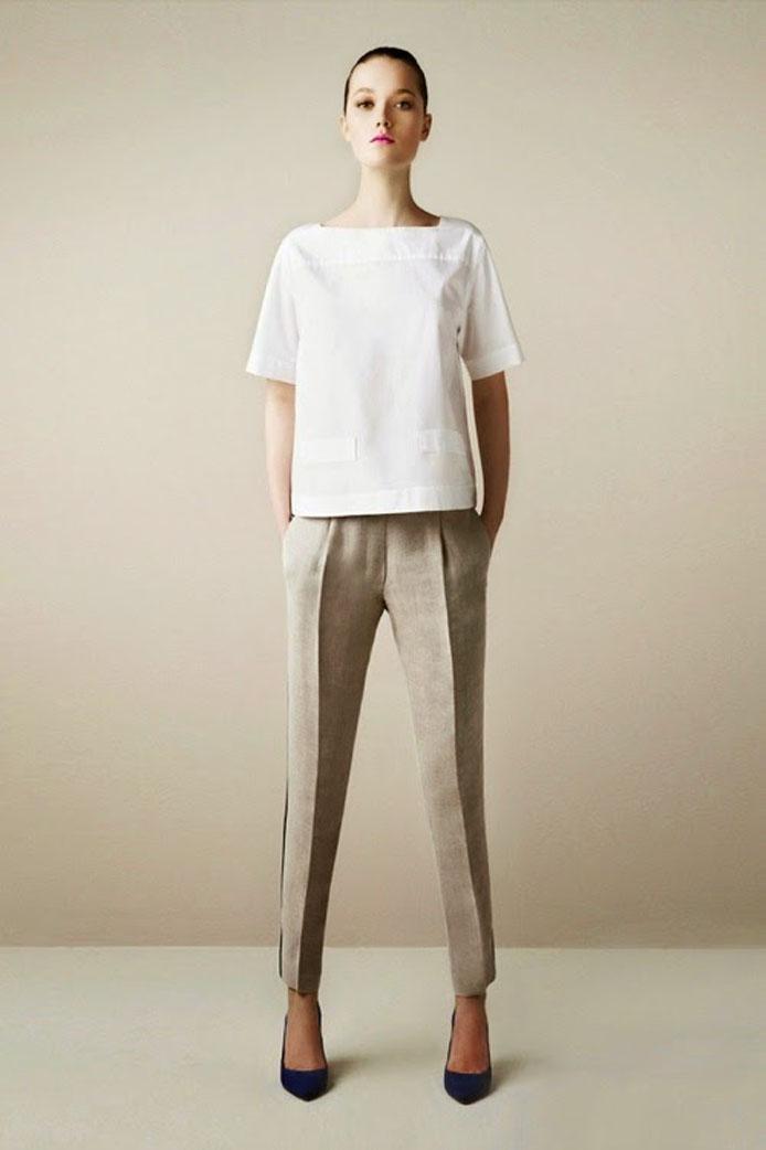 Một mẫu thiết kế theo xu hướng thời trang tối giản