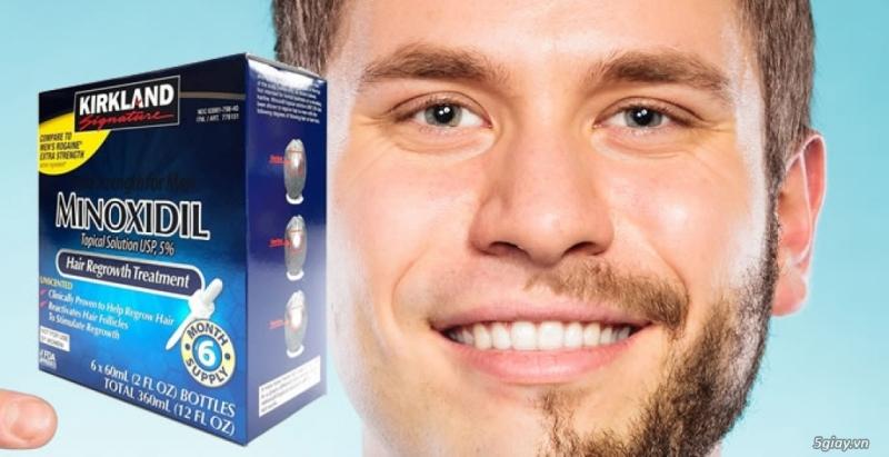 Top 10 loại thuốc mọc râu tự nhiên tốt nhất