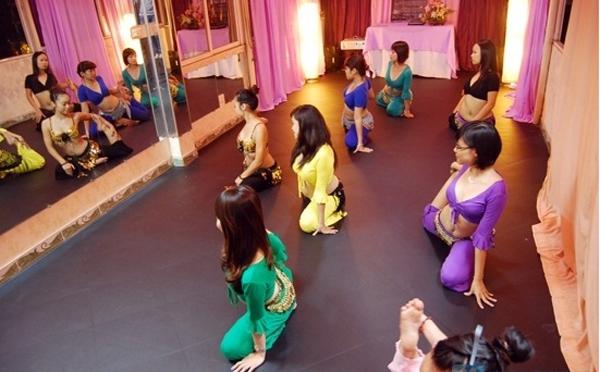 Lớp học Belly dance tại MinT Centre