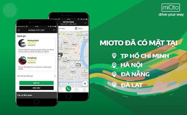Mioto - Thuê xe tự lái và có tài xế