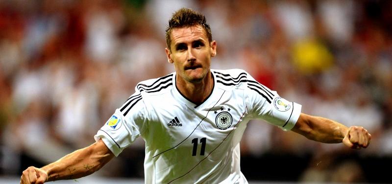 Miroslav Klose cầu thủ ghi nhiều bàn thắng nhất qua các kỳ World cup.