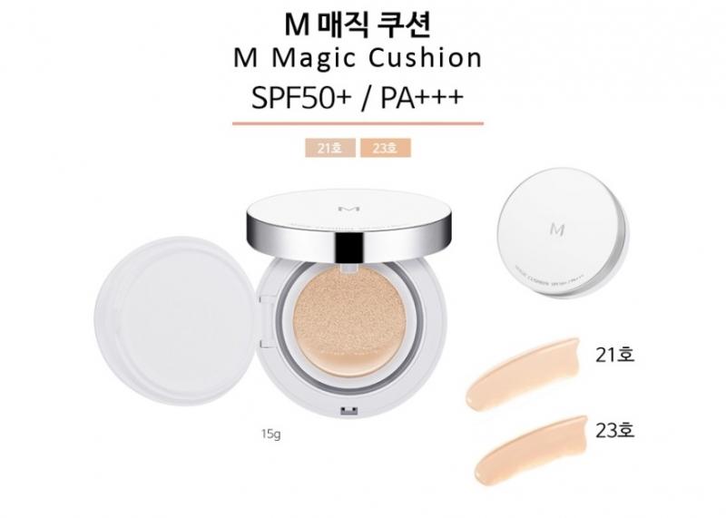 Missha M Magic Cushion có hai tone màu cho bạn lựa chọn