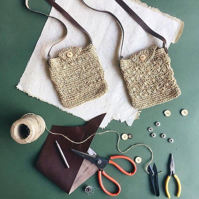 Mẫu túi handmade của Miuk and Jun
