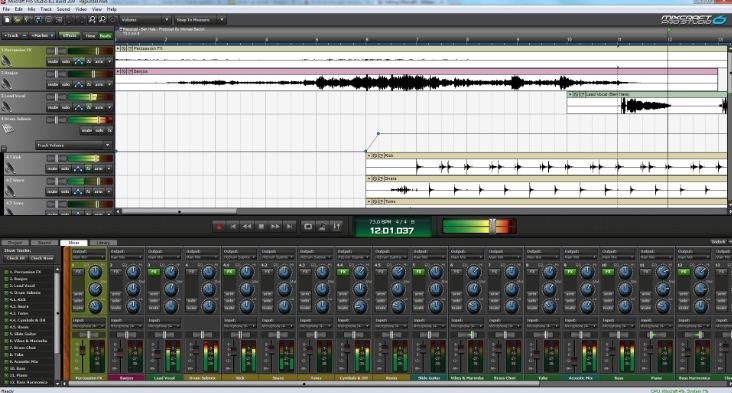 Phần mềm thu âm Mixcraft
