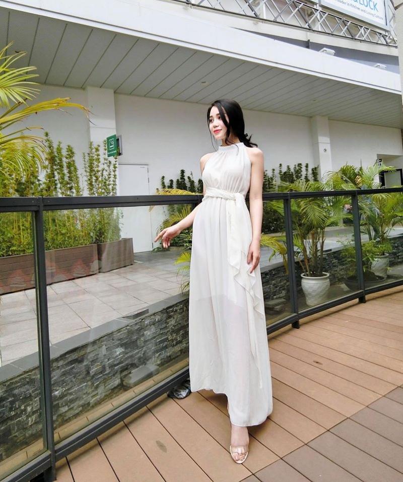 Miyuu Huang với một thiết kế nữ tính