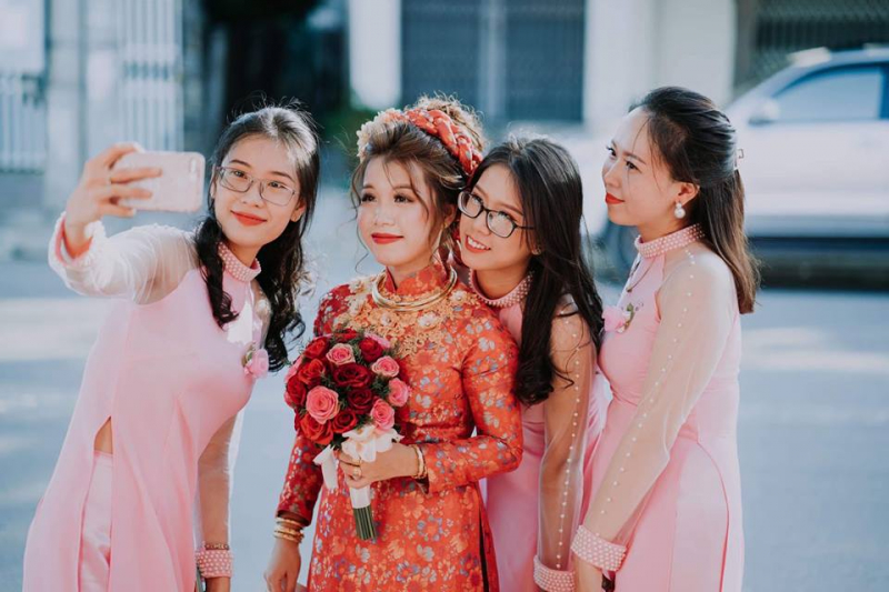 M'kup Hana – Cho thuê áo dài cưới hỏi đẹp Phan Rang, Ninh Thuận