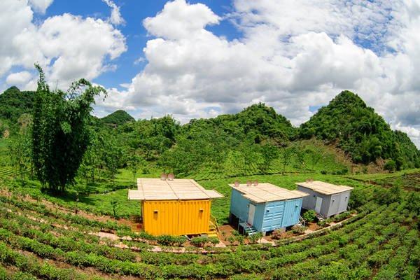 Các bungalow tại Mộc Châu Arena Village