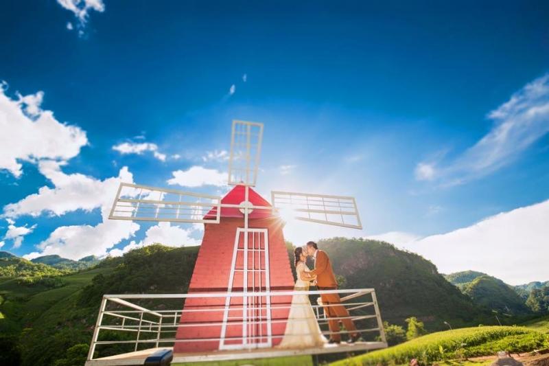 Mộc Châu Happy Land nơi hội tụ được đầy đủ vẻ đẹp núi rừng