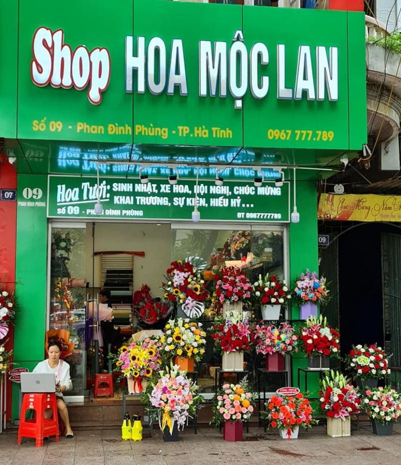 Shop hoa Mộc Lan