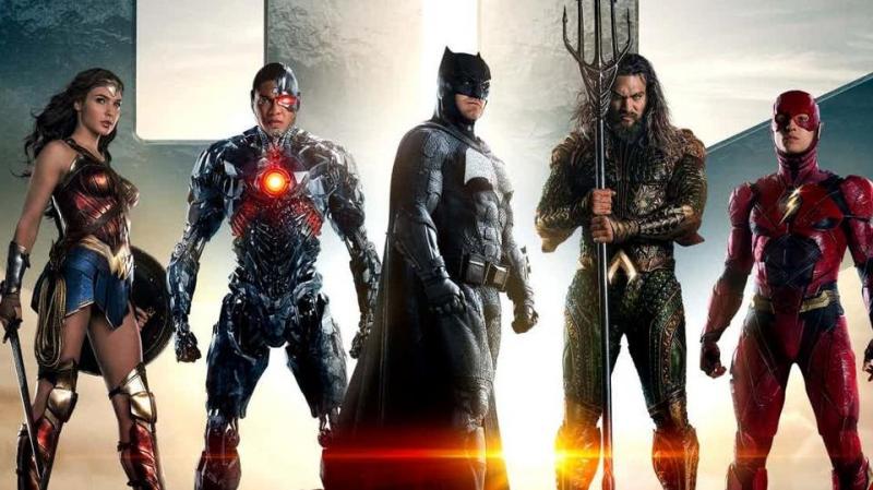 Mốc thời gian cả trước và sau Justice League