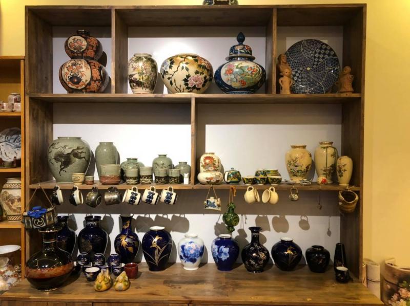 Mộc - Tiệm gốm Nhật
