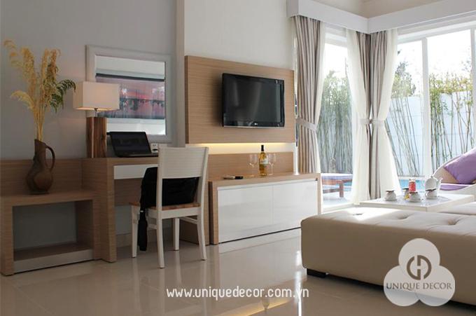 Nội thất khách sạn do Moderm Decor thiết kế