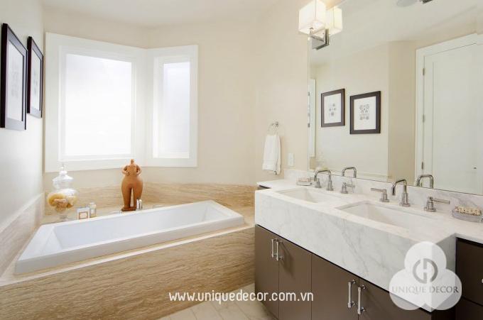 Nội thất phòng tắm do Moderm Decor thiết kế