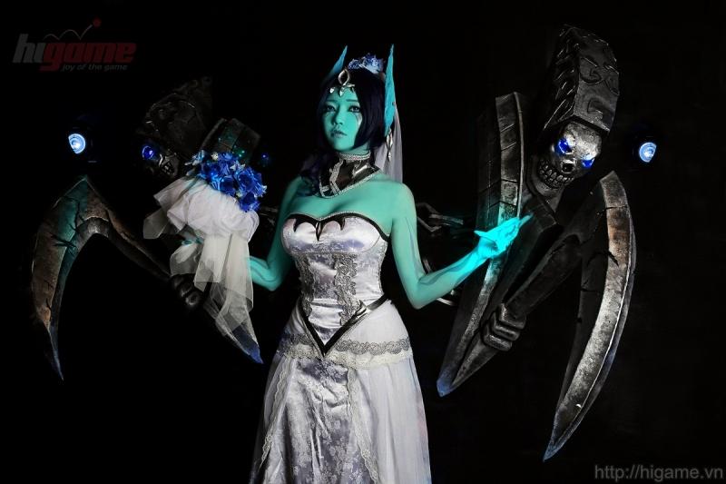 Sina Rune cosplay Mogana Oan Hồn Cô Dâu