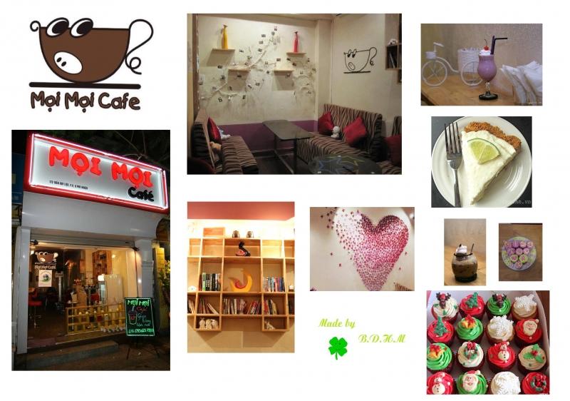 Một số hình ảnh của Mọi Mọi Cafe - Nguồn: Sưu tầm