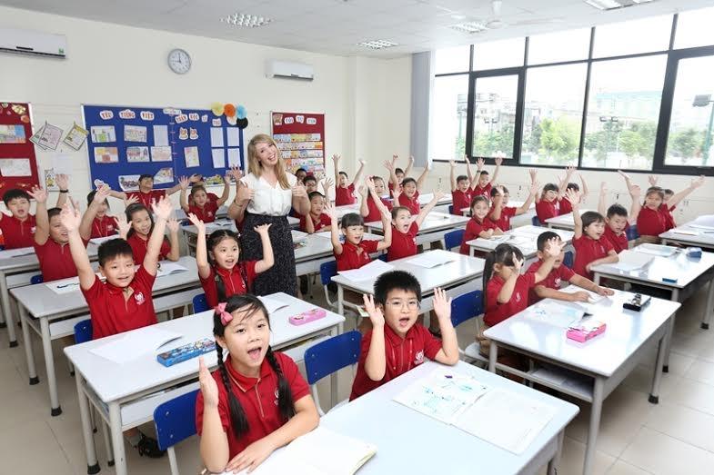 Trong lớp học luôn diễn ra những hoạt động sôi nổi giúp các em học sinh dễ tiếp thu hơn