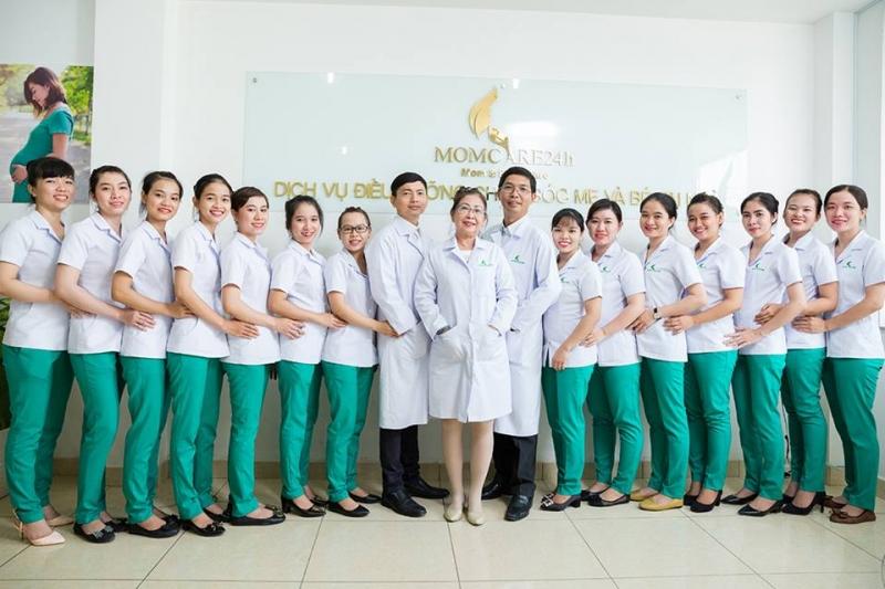 Đội ngũ bác sĩ, nhân viên tại Momcare24h