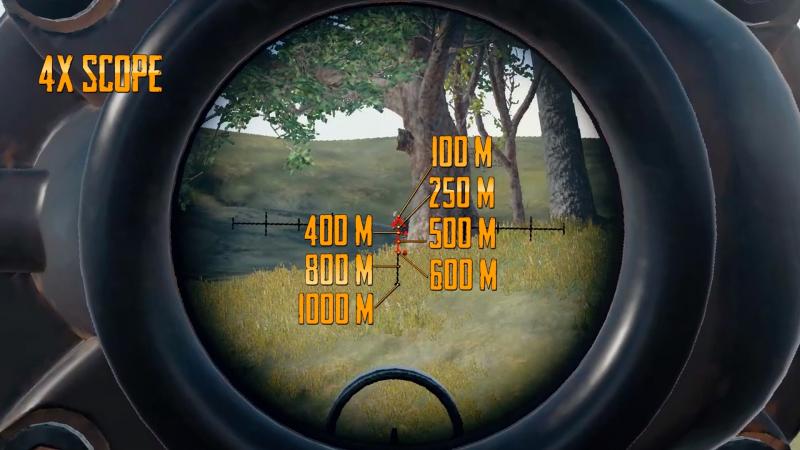 4x scope - PUBG