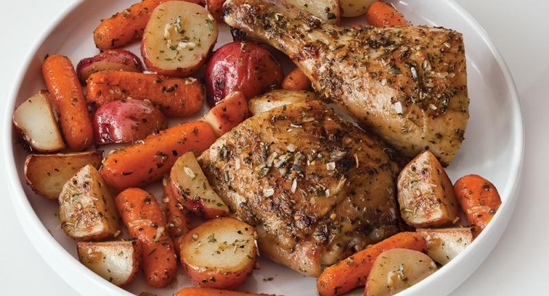 Món gà vùng Provence