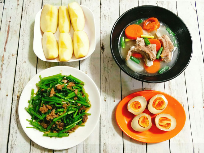 Những món ăn thơm ngon nhất được chia sẻ lên group